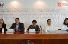 Poder Legislativo pone en marcha jornada de prevención de adicciones