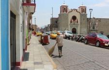 Recolecta Sistema de Limpia municipal más de 42 toneladas de basura diarias, en el Centro Histórico