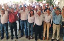 Oaxaca se vestirá de tricolor este 7 de junio: militantes priistas