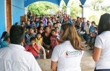 Refrenda Gabriela Olvera compromiso  con el desarrollo del Distrito IX