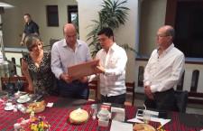 Reconocen empresarios al Municipio de Oaxaca de Juárez por la permanente promoción turística de la capital
