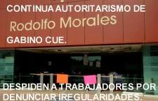 Acción autoritaria del Ejecutivo, despiden a 24 empleados de base de la Consejería Jurídica