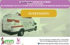 Se suspende la aplicación de tomas gratuitas  de Papanicolaou en el Instituto Municipal de la Mujer