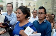 Exhortan comerciantes al Gobierno Estatal para no permitir regreso de ambulantes al Zócalo