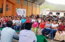 Con Sofía Castro serán tres años de desarrollo: Santo Domingo Petapa