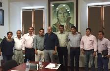 Se reúne Javier Villacaña con el Comité estatal del FSTSE