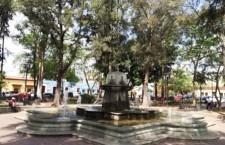 Municipio capitalino rehabilita fuente del Jardín Conzatti