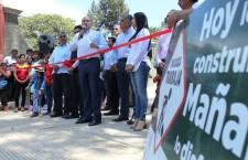 Obras por más de 3.5 MDP entrega Javier Villacaña a vecinos de Guadalupe Victoria