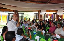 Reafirma Villacaña lazos de cooperación y trabajo  con agentes municipales y COMVIVES