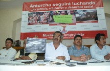 Retira Antorcha Campesina plantón en la Ciudad de México por amenazas del Gobierno Federal