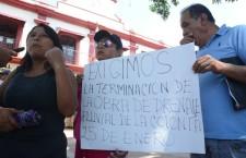 Exigen vecinos de la Col. 25 de Enero a Galdino Huerta conclusión de drenaje pluvial