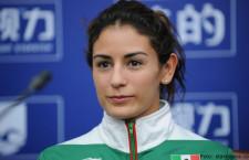 Protesta Paola Espinosa por Premio Nacional de Deportes