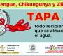 Continúa Municipio de Oaxaca combate  permanente contra mosquito Aedes Aegypti