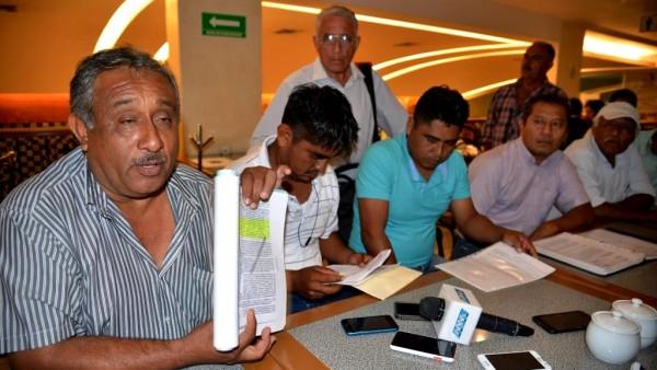 Presidente de bienes comunales de Tonameca pretende utilizar reserva ecológica para zona turística