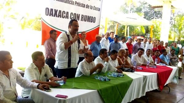 El PRI continuará con el  trabajo a favor de Oaxaca: Jorge Toledo Luis