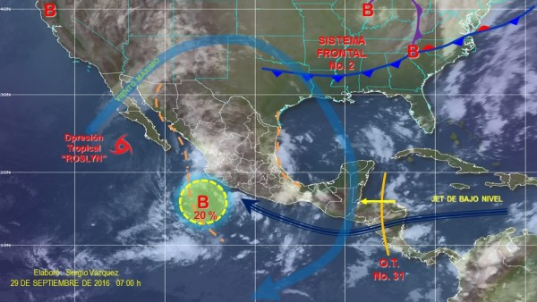 Afectarán a México 50 frentes fríos durante temporada 2016-2017