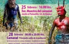 Se llena de alegría San Martín Tilcajete con el Carnaval 2017