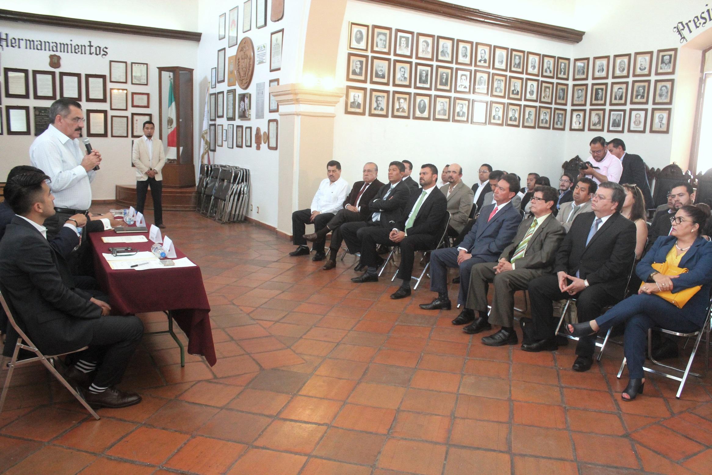 Con Consejo de Normatividad y Seguridad Jurídica, Ayuntamiento ...