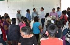 Atiende SAPAO solicitudes de colonos de la Heladio Ramírez López