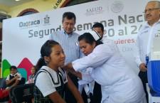 Inicia en Oaxaca Segunda Semana Nacional de Salud 2017