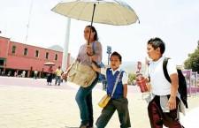 Protección Civil exhorta a la población a mantenerse atenta por altas temperaturas