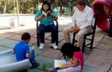 Con Bibliotecas al Aire Libre, fomenta  Gobierno hábito de la lectura