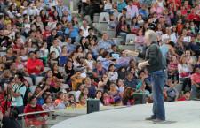 Disfruta público infantil conciertos de Luis Pescetti y Orquesta Primavera
