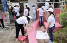 En equipo y trabajando en familia podemos transformar Oaxaca: Ivette Morán