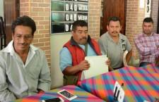 Exigen autoridades de San Bartolo Lachixova entrega de participaciones de los Ramos 28 y 33