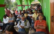 Niegan comunidades asilo a la organización 14 de Junio