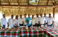 Fortalece Nueva Alianza su estructura municipal en Huatulco