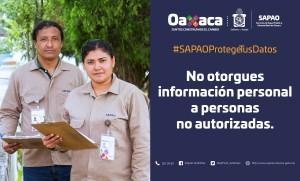 Informa SAPAO sobre falsos encuestadores (2)