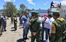 Coordina Gobierno de Oaxaca puente aéreo en atención a la zona Mixe