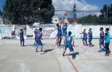 Más de 200 niños y 30 equipos participan en Torneo de Basquetbol
