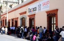 Exigen trabajadores de la Mixteca atención de los SSO a sus demandas laborales