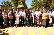 Inaugura Raúl Cruz pavimentación con concreto hidráulico de la calle 13 de Diciembre