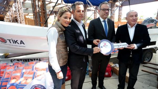 Gobierno y Turquía se hermanan en favor de la salud e integridad del pueblo de Oaxaca