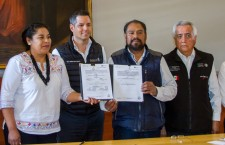 Atestigua AMH firma de convenio de paz entre Santo Domingo Ixcatlán y Chalcatongo de Hidalgo