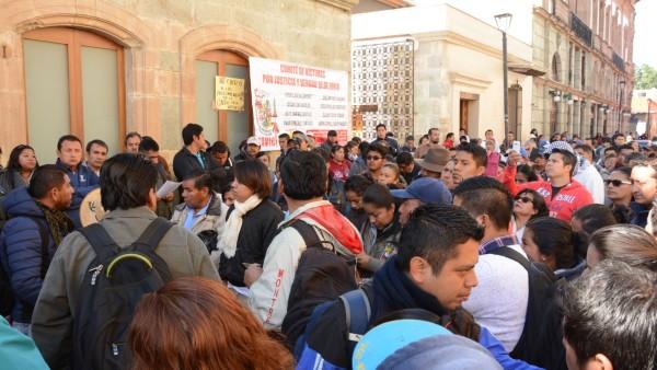 Rechaza Comité de Víctimas recomendación a modo emitida por CNDH por los hechos en Nochixtlán