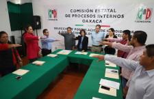Instala PRI la Comisión Estatal de Procesos Internos