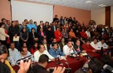 Exigen trabajadores de salud, cese inmediato de Juan Díaz Pimentel
