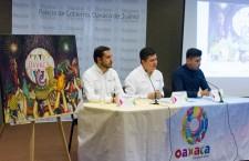 """Presenta Secretaría de Turismo cartel de """"Julio, mes de la Guelaguetza 2018"""""""
