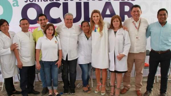 Ivette Morán de Murat clausura la Novena Jornada de Prótesis Ocular