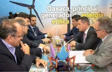 Presenta AMH a industriales portafolio de inversión de energía eólica de Oaxaca