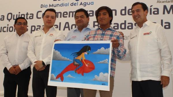 Trabaja Gobierno de Oaxaca para garantizar abasto de agua