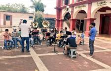 El arte que cambia vidas; por primera vez se presenta la Banda de Música Infantil y Juvenil de Santa Lucía.