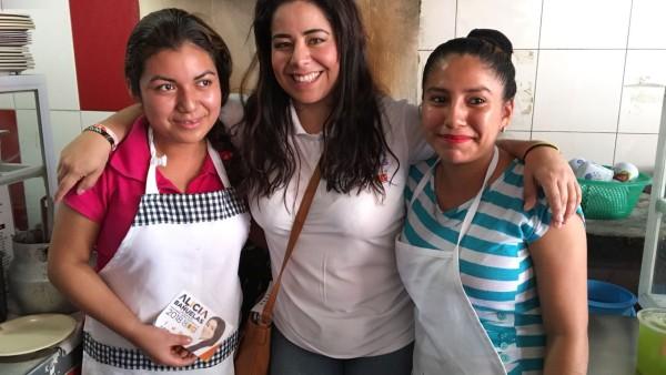 Fortalecer los pequeños negocios para mejorar la calidad de vida de los oaxaqueños: propone Alicia Bañuelas