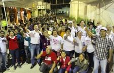 La ruta del triunfo va por buen camino, yo si quiero seguir con el progreso de Santa Lucía: Raúl Cruz.