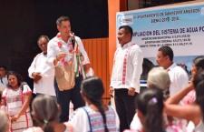 Constata Gobierno de Oaxaca proyectos de infraestructura social en San Pedro Amuzgos