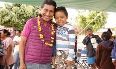 Continuará el apoyo a la cultura, educación y deporte por el bienestar de Xoxocotlán: López Jarquín